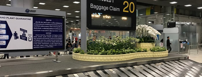 Baggage Claim 20 is one of TH-Airport-BKK-1.