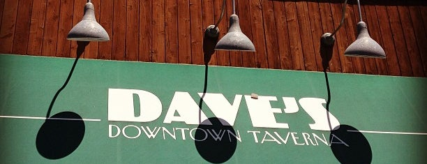 Dave's Taverna is one of good food. in the 'burg.