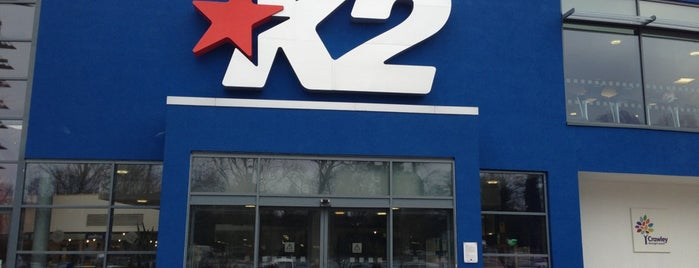 K2 is one of Best places in Crawley, UK.