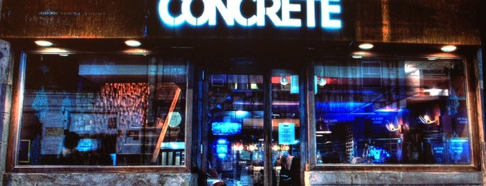 Concrete is one of CBS Recommended.