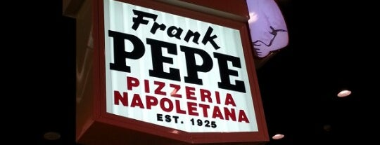 Frank Pepe Pizzeria Napoletana is one of Best of Connecticut Statewide Travels.