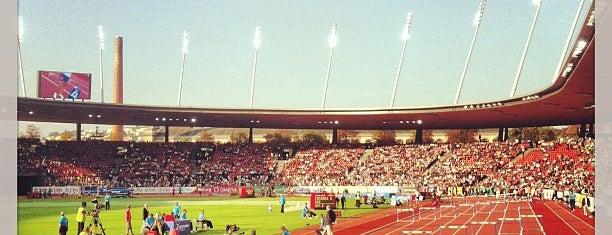 Letzigrund Stadium is one of Fussballstadien Schweiz.