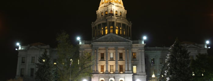 Colorado State Capitol is one of The Crowe Footsteps.