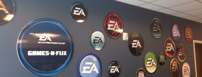 Electronic Arts is one of silicon valley.