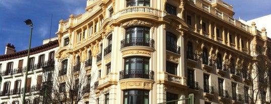 Plaza de Alonso Martínez is one of @ Madrid (MD, España).