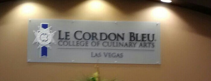 Le Cordon Bleu College of Culinary Arts in Las Vegas is one of Foodie.