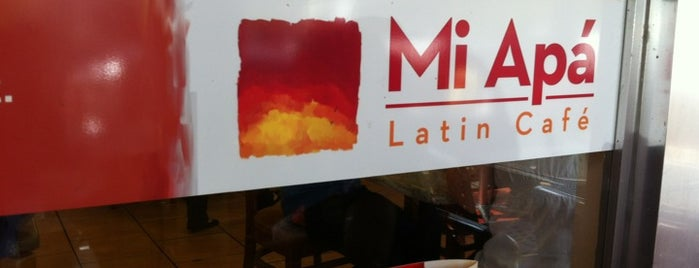 Mi Apá Latin Café is one of Places to visit before I leave Gainesville.