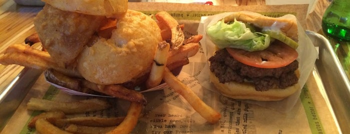 BurgerFi is one of Lunch, Anyone?.