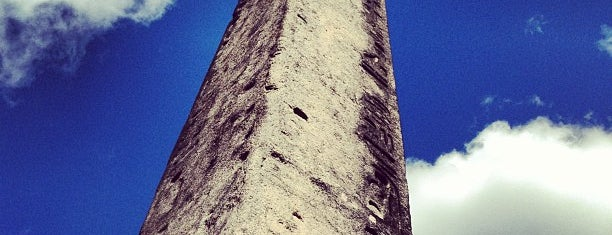 The Obelisk (Cleopatra's Needle) is one of NYC Stay-cation.
