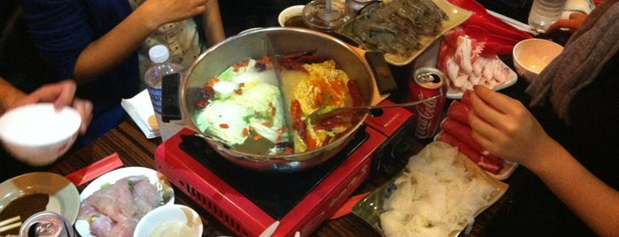 Hou Yi Hot Pot is one of NYC Chinatown Beat.