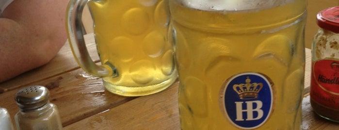 Max Bratwurst und Bier is one of Restaurants I must try.