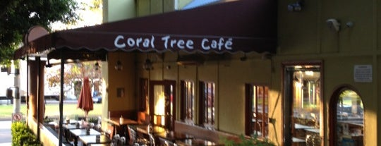 Coral Tree Café is one of Must at Day :).