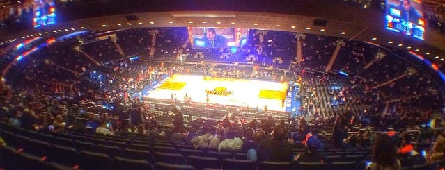 Madison Square Garden is one of NY.