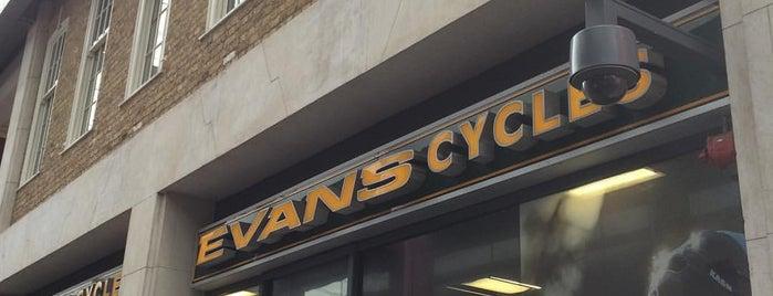 Evans Cycles is one of #LoveE1.