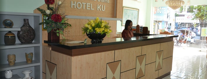 Hotel-KU (Kumbokarno Utama) is one of Handriyono's tips.