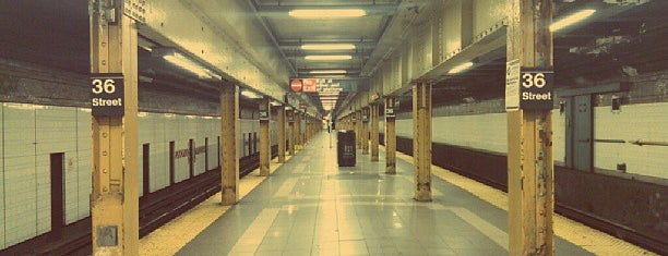 MTA Subway - 36th St (D/N/R) is one of MTA Subway - N Line.