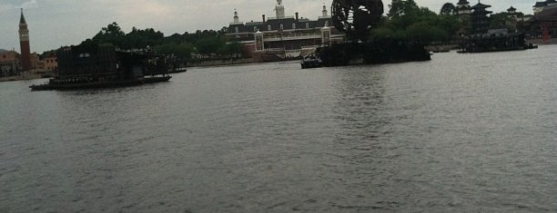 Friendship Boat Dock - World Showcase Plaza East is one of Best Kept Secrets? of Disney.