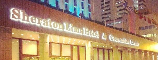 Sheraton Lima Hotel & Convention Center is one of Una ruta en el Centro de Lima.