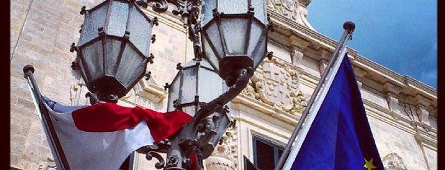 Auberge de Castille is one of Malta Cultural Spots.