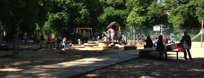 Spielplatz am Humannplatz is one of Spielplätze.