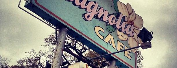 Magnolia Cafe is one of Hook 'Em Horns- Austin.
