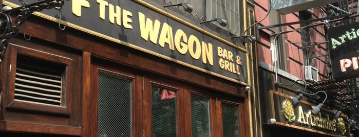Off The Wagon Bar & Grill is one of NYC Faves.