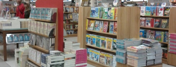 Gramedia is one of Bookworm Bender Badge.