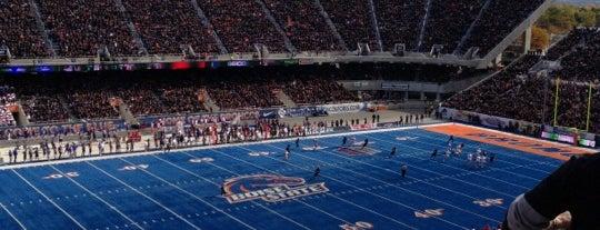 Albertson's Stadium is one of Stadiums.