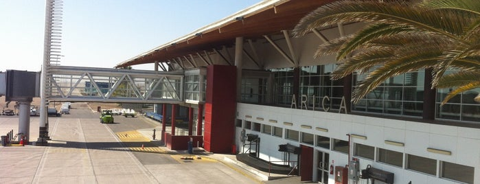 Aeropuerto Chacalluta (ARI) is one of Checkin/Checkout.