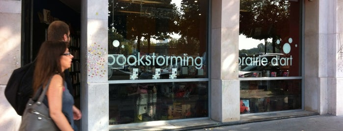 Bookstorming is one of Libraries and Bookshops.