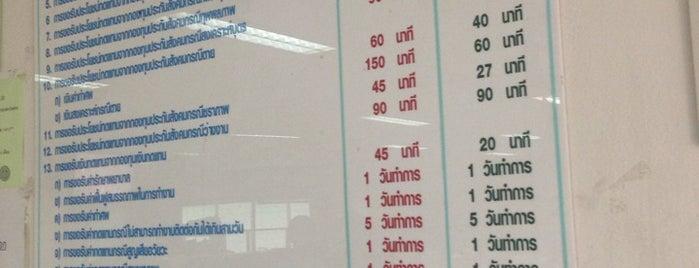 สำนักงานประกันสังคม จังหวัดนนทบุรี is one of ราชการ.