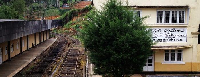 Nanu-Oya Railway Station is one of Railway Stations In Sri Lanka.