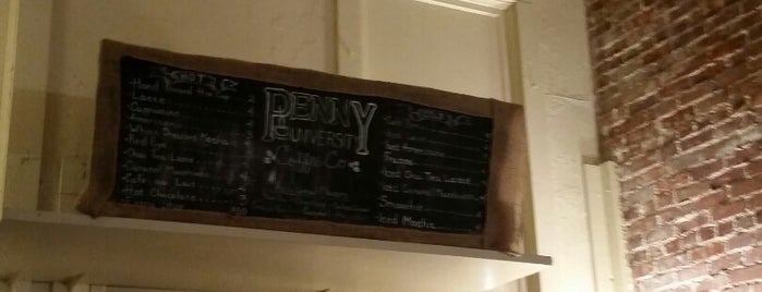 Penny University Coffee Co is one of Thomas's tips.