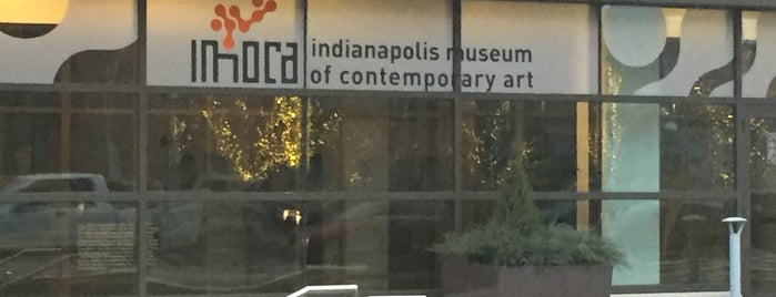 Indianapolis Museum of Contemporary Art (IMoCA) is one of First Friday Art Galleries.