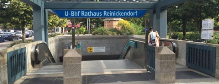 U Rathaus Reinickendorf is one of U-Bahn Berlin.