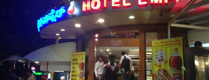 Hotel Empire is one of Khaana Peena in Bengaluru.