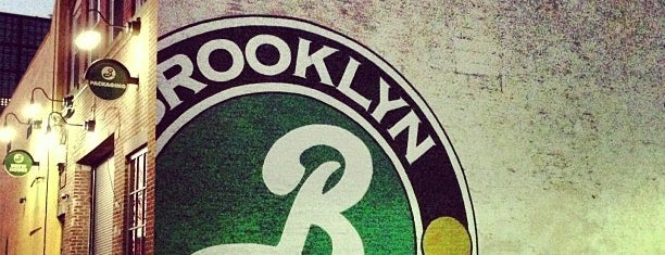 Brooklyn Brewery is one of NYC bucket list.