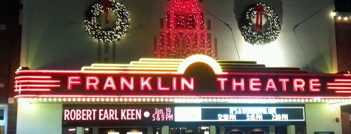 The Franklin Theatre is one of Nash Life.