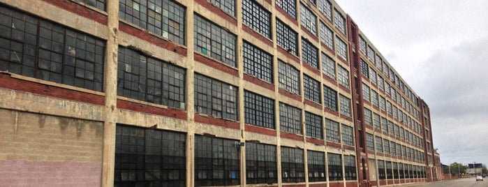 Highland Park Ford Plant is one of Detroit in Ruins.