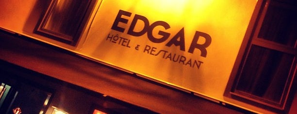 Edgar is one of Paris // For Foreign Friends.