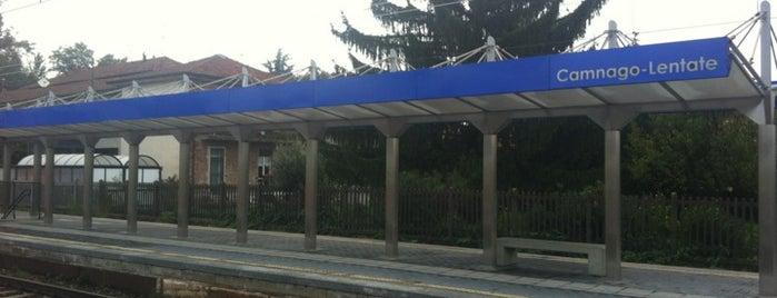 Stazione Camnago - Lentate is one of Linee S e Passante Ferroviario di Milano.