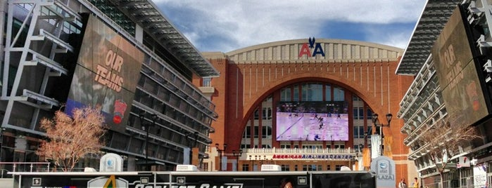 American Airlines Center is one of Venue.