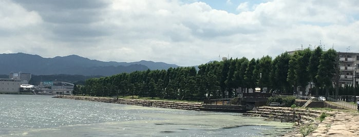 名勝 粟津の晴嵐 is one of Park.