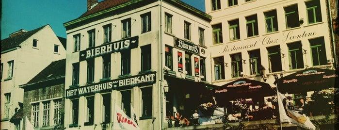 Het Waterhuis aan de Bierkant is one of Gentjes.