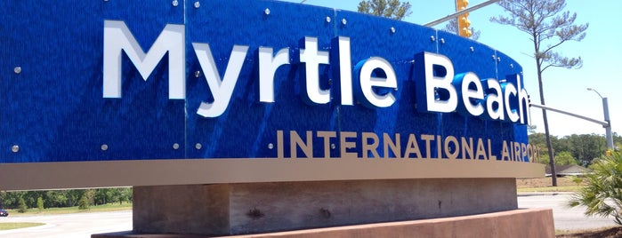 Myrtle Beach International Airport (MYR) is one of Airports been to.