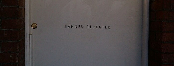 Banner Repeater is one of London arts.