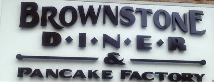 Brownstone Diner & Pancake Factory is one of Triple D Checklist.