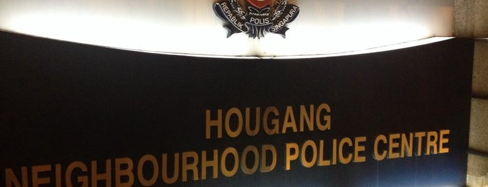 Hougang Neighbourhood Police Centre is one of Singapore Police Force.