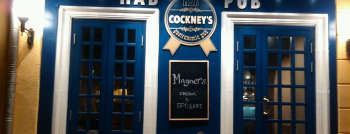 Cockney's Pub is one of Caffe.
