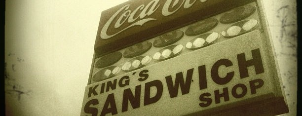King's Sandwich Shop is one of Get in my belly.